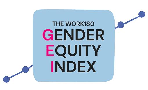WORK180's gender equity index logo