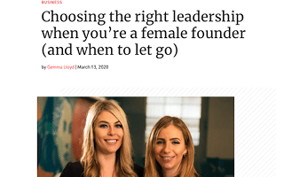 women's agenda screenshot